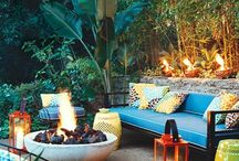 {{outdoor living}} / by Denise Cusack | Wholly Rooted