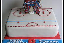 хоккей торт