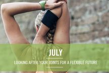 Your Year of Natural Wellbeing - July / This month it's all about 'joints' and how to keep them healthy!