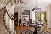 Hallways & Foyers & Entryways / by Ampersand Design