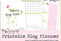 blog planner / by Raquel Quesada (All My Things)