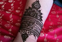 Henna tattoo inspiration | Metalicious / My henna tattoo jewelry is inspired by the swirls and symbols of traditional mehndi henna tattoos. Mystery and beauty.