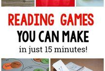 jeux de lecture pour enfants rapide à réaliser