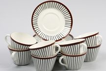 Mid century ceramics and tableware