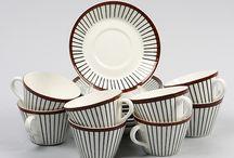 Mid century ceramics and tableware