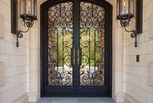 iron security gates