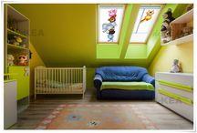 Rolety dachowe deKEA z pieknymi wzorami na poddasze / Rolety dachowe deKEA z pięknymi grafikami, zdjęciami - do salonu, kuchni, sypialni, pokoju dziecięcego, kuchni i pracowni