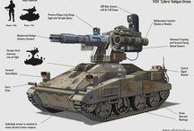 autonomiczne i zdalnie sterowane maszyny wojskowe