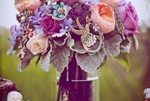 wedding - bouquet / by Emmalee Fell