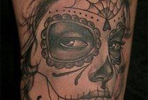 Day of the dead girl tattoo ideas / Tattoo