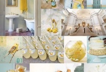 lemon/mustard wedding!