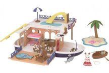 Sylvanian Families Statek Wycieczkowy / Wyjątkowe zabawki dla dzieci marki Sylvanian Families