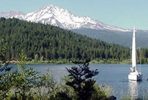 Mt. Shasta: Boating / The many area lakes are perfect spots to paddle your canoe or kayak or cruise around in a motorized fishing boat. Our lakes are uncrowded and picturesque, many with camping nearby.