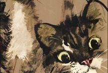 koty / malowane koty