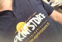 STAMPE MAGLIE PERSONALIZZATE / Stampe e ricamo su T-shirt, polo, abiti da lavoro