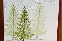 Christmas trees Cards / by Kathy Baird