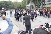 Acción global por Ayotzinapa. 20/11/2014 / Marcha para exigir la aparición de los 43 normalistas desaparecidos en Iguala y la renuncia del presidente Enrique Peña Nieto.