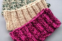 Head band knitted