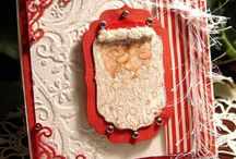 Christmas Cards / Christmas cards, DIY christmas cards, Cards with santa, snowmen, snowflakes, and spiritual cards for the Christmas holidays.