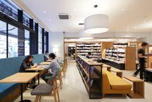 Library Bookcafe
