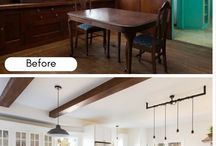 Before & After Interior Design Makeovers / Laurel & Wolf's best and brightest home transformations.