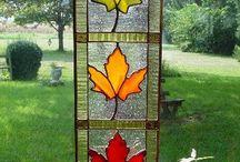 mosaicos hojas