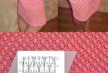 юбки крючком