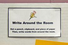 Write around the room