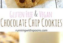 Cookies ~ Gluten-Free & Vegan / Gluten-Free & Vegan cookies
