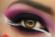 Wedding makeup inspiration / Cherry blossom/geisha-inspired makeup looks