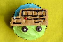 School Bus Cupcakes for Back to School