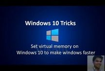 Set virtual memory on windows 10