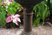 Fountains & Bird baths / Beautifully designed fountains and bird baths create stunning focal points in any garden.