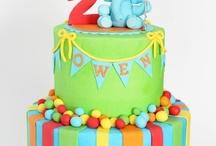 Birthday cakes (torty)