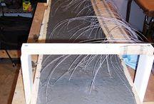 table béton led