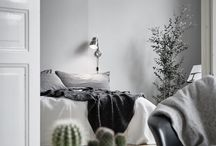 Makuuhuone harmaa