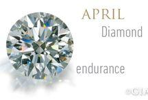 April Birthstone- DIAMOND / Birthstone for April - diamond - enjoy interesting diamond designs