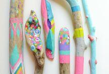 Inspiratie #kinderkunst Doe Museum / Kunst gemaakt door kinderen.