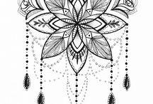 Mandala wall art inspirations