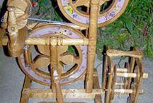 Spinning wheels