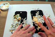 Cards - Gilding Flakes