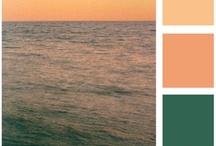Color Pallete to Inspire / Color, colour, inspiration, pallet, pallete