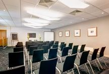 Conference @ Apex Haymarket Hotel / Ideally located and fully equipped for productive business meetings, Apex Haymarket Hotel offers three flexible meeting rooms in Edinburgh. The meeting venues are within easy walking distance of Haymarket Station and a short distance of Edinburgh Airport via car, tram, or bus.