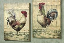 Roosters / by Trish Rogers