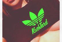 #kush T-Shirt / www.kushtard.com Kush,weed,420,marijuana t-shirt
