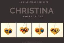 Christina Collections / Christina Collections of custom made jewelry/accessories. To include Christina's Passion for Ethnic Fashion, Unique Style, Tattoos, Hair Styles and Inspirations.