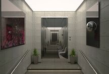 Elevator / Elevator is a personal Architectural project tested with modeling, texturing, lighting – shading and rendering.