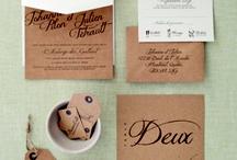 Invitation et faire part / Vous avez fixé la date à laquelle vos âmes et vos cœurs vont s'unir? Créer votre faire-part de mariage original et personnalisé!