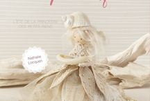 My Book Broderie poétique /  l'été de la princesse des petits riens aux Editions de Saxe.