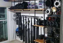 Camera gear organisation